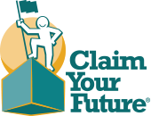 Claim Your Future logo